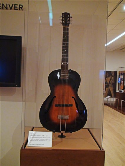 John Denver Gibson Acoustic Guitar