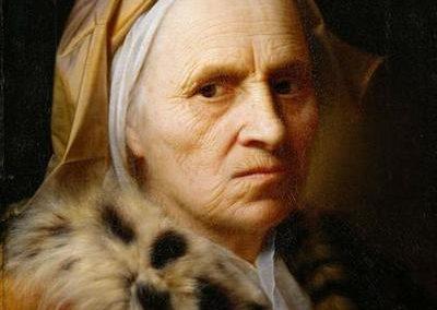 Alte Frau - Balthasar Denner