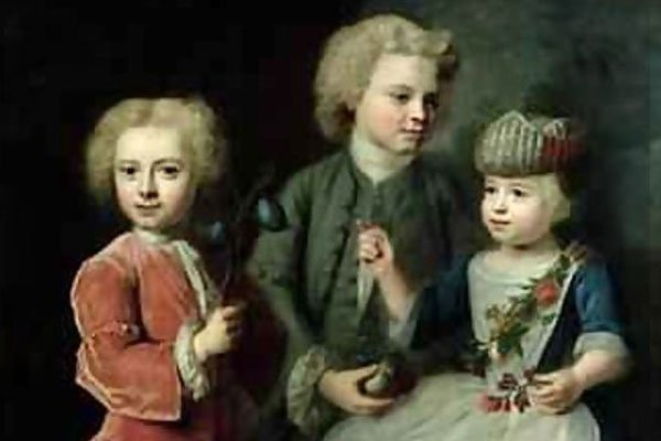 The Children of Barthold Heinrich Brockes by Balthasar Denner