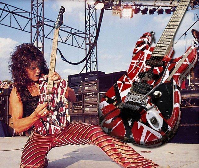 Van Halen Guitar Solo