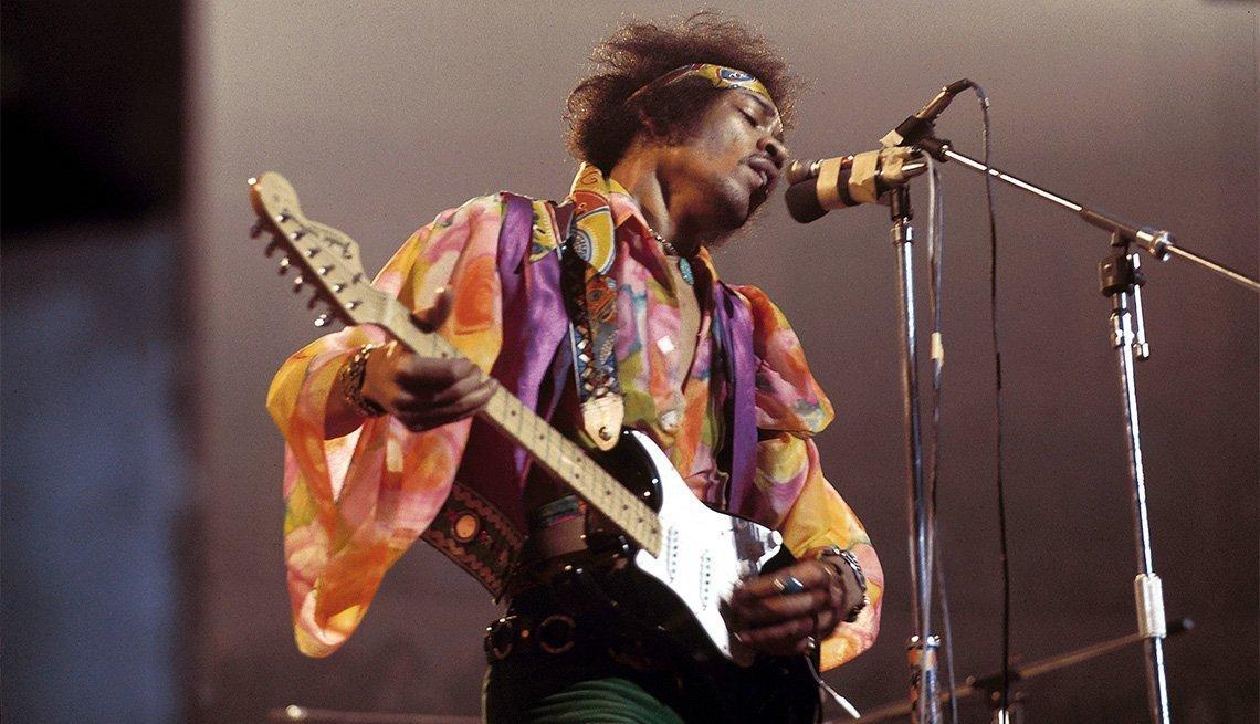 Jimmy Hendrix Guitar Solo Live
