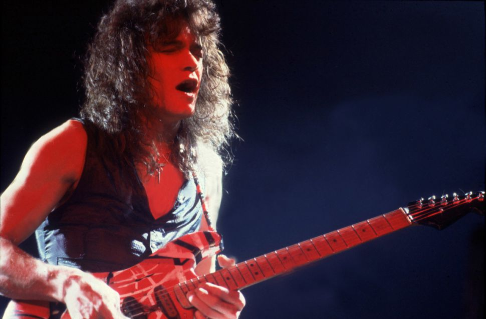 Eddie Van Halen Live Guitar Solo